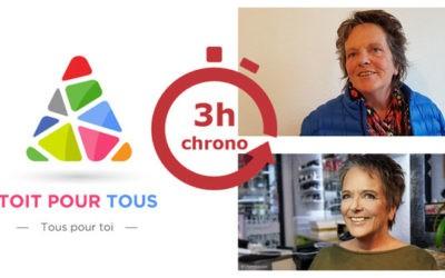 3h chrono ! Relooking avec Toit Pour Tous