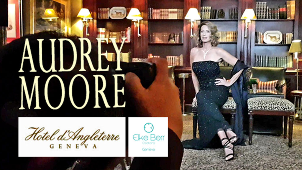 Backstage Shooting Audrey Moore à l'Hotel d'Angleterre