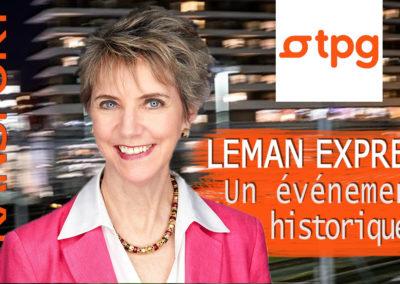 Ouverture du Léman Express : un événement historique